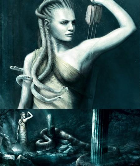 Greek Myth Art Greek Myth of Medusa