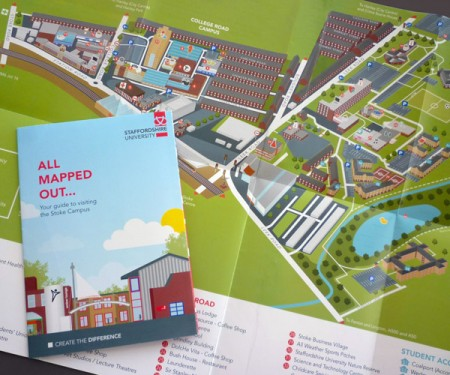 staffordshire university stoke campus map Staffordshire University Campus Map Hire An Illustrator staffordshire university stoke campus map