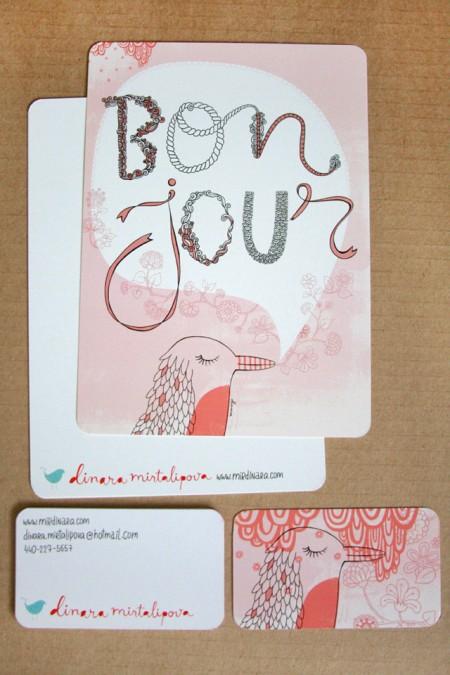 bonjour card2