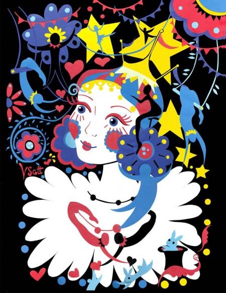 fille du cirque russe